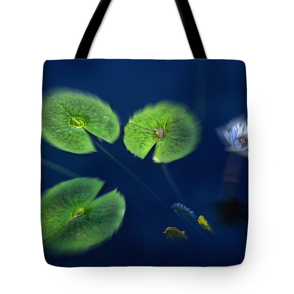 Water Tote Bag featuring the photograph 3043 by Peter Holme III