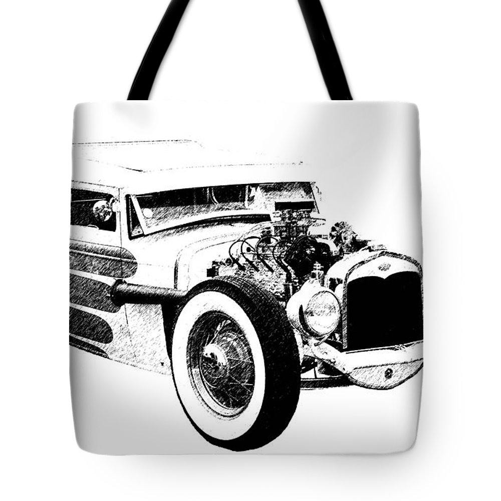 1931 Model A Tote Bag featuring the photograph 31 Model A by Guy Whiteley