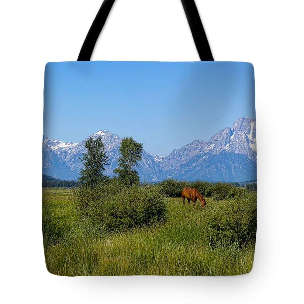Mountains Tote Bag featuring the photograph 3244 by Peter Holme III
