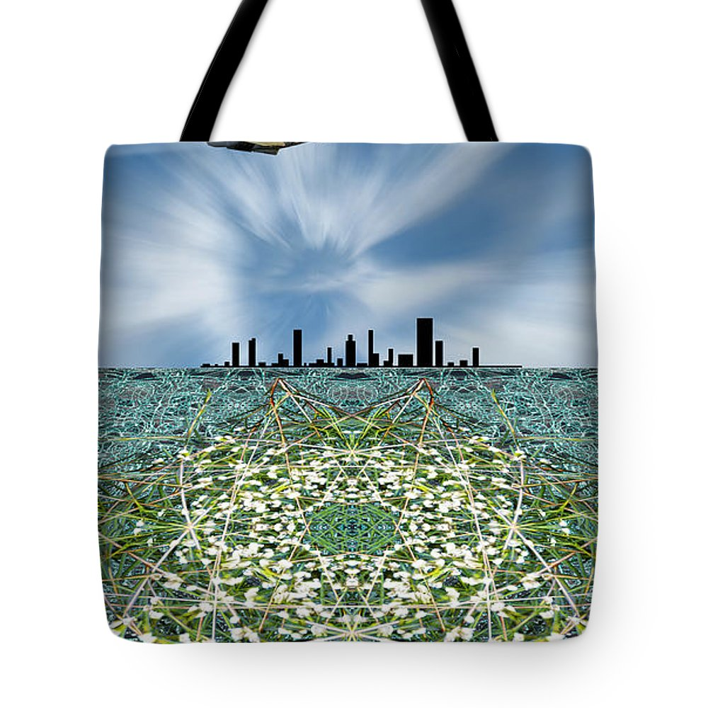 Jet Tote Bag featuring the photograph 3308 by Peter Holme III