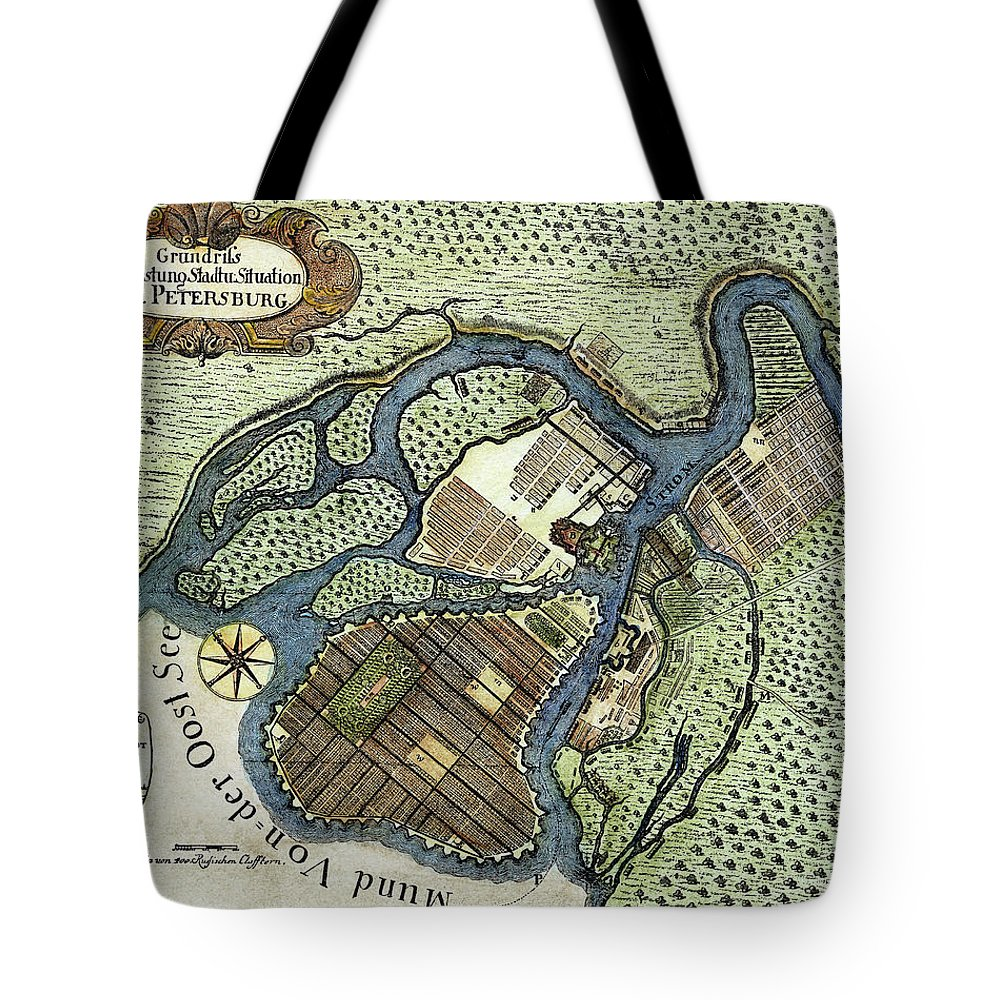 1738 Tote Bag featuring the painting St by Granger