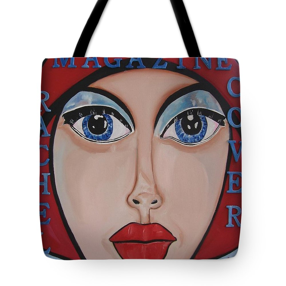Pikotine Tote Bag featuring the painting Pikotine Art by Pikotine Art