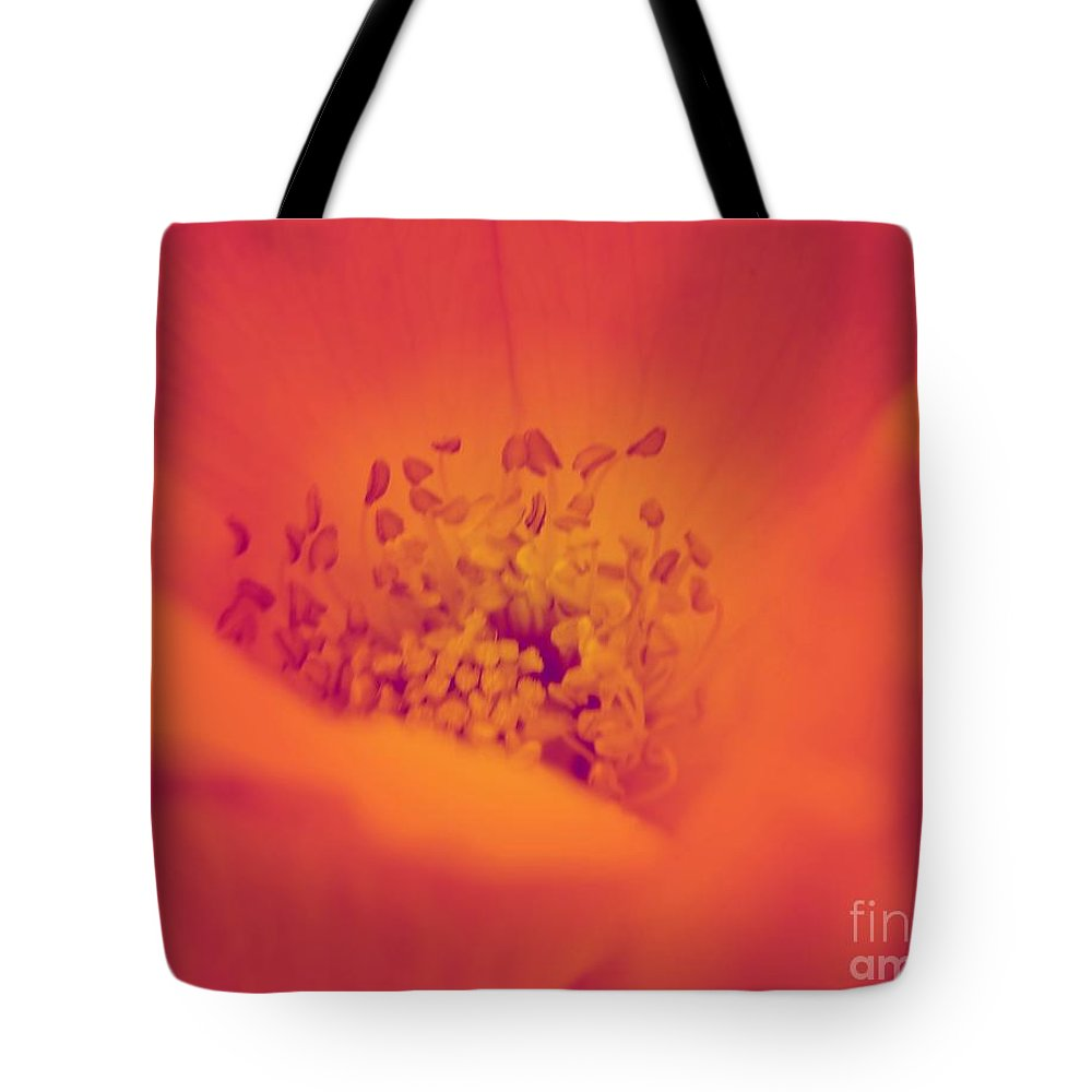 Abstract Tote Bag featuring the photograph Spring 2013 by Chet B Simpson
