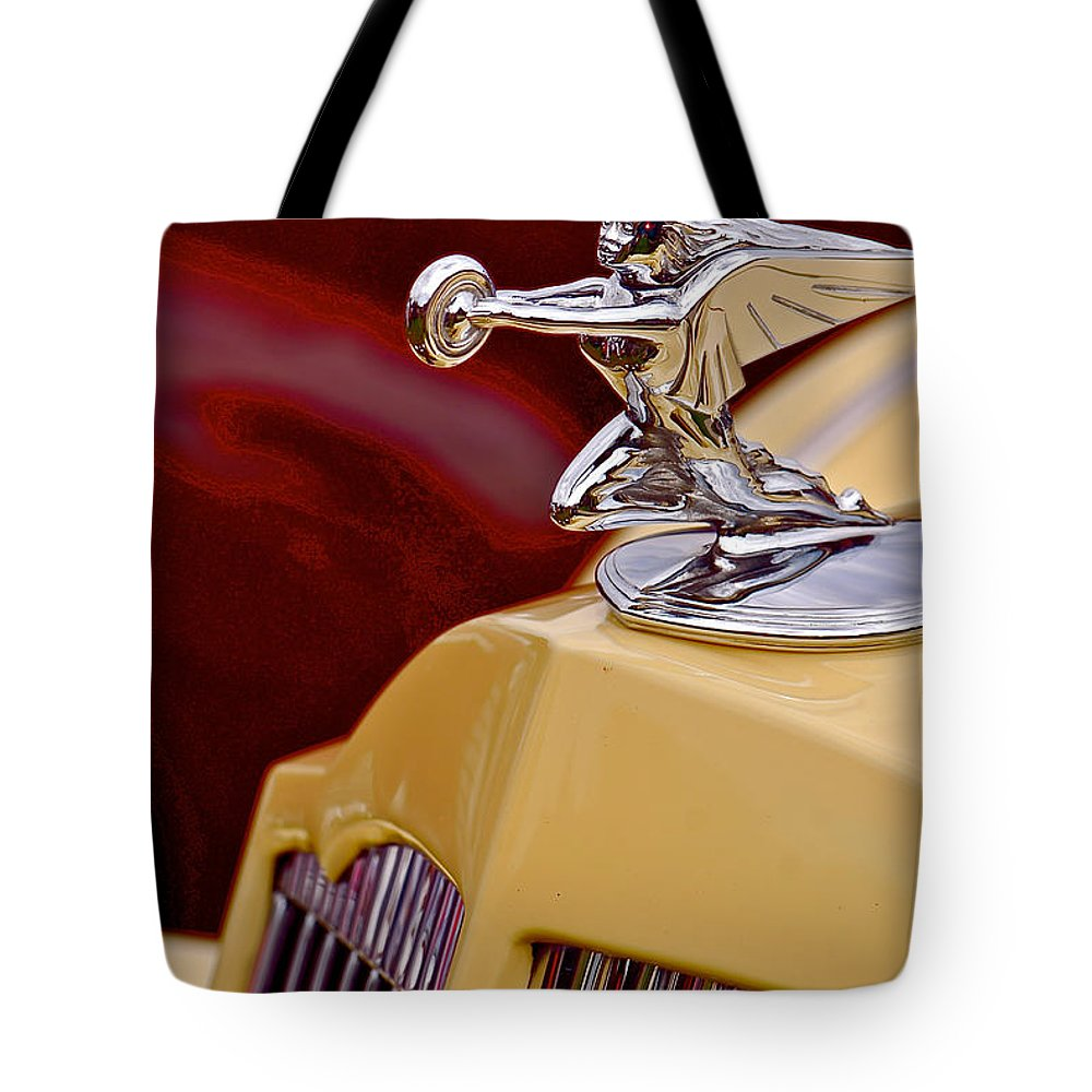 Car Tote Bag featuring the photograph 36 Packard by Douglas Perry