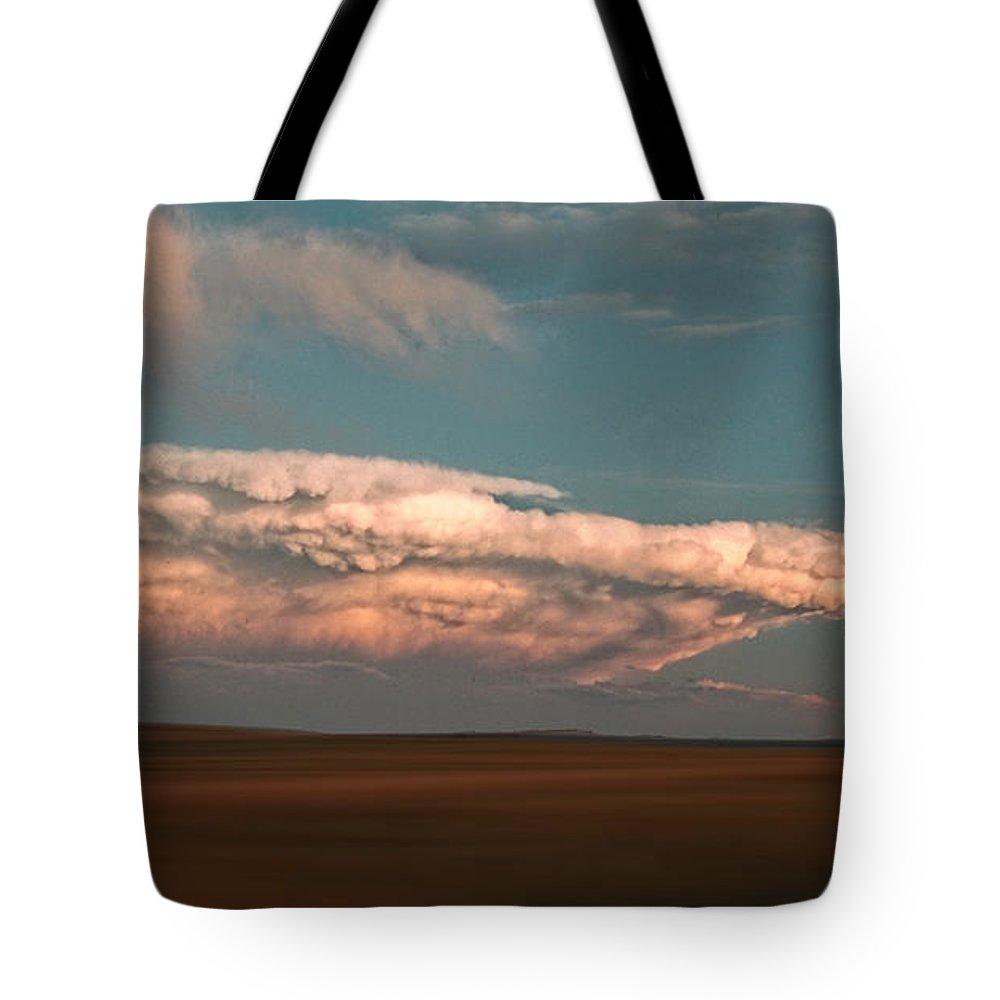 Clouds Tote Bag featuring the photograph 3702 by Peter Holme III