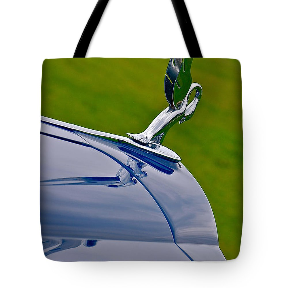 Car Tote Bag featuring the photograph 38 Packard by Douglas Perry