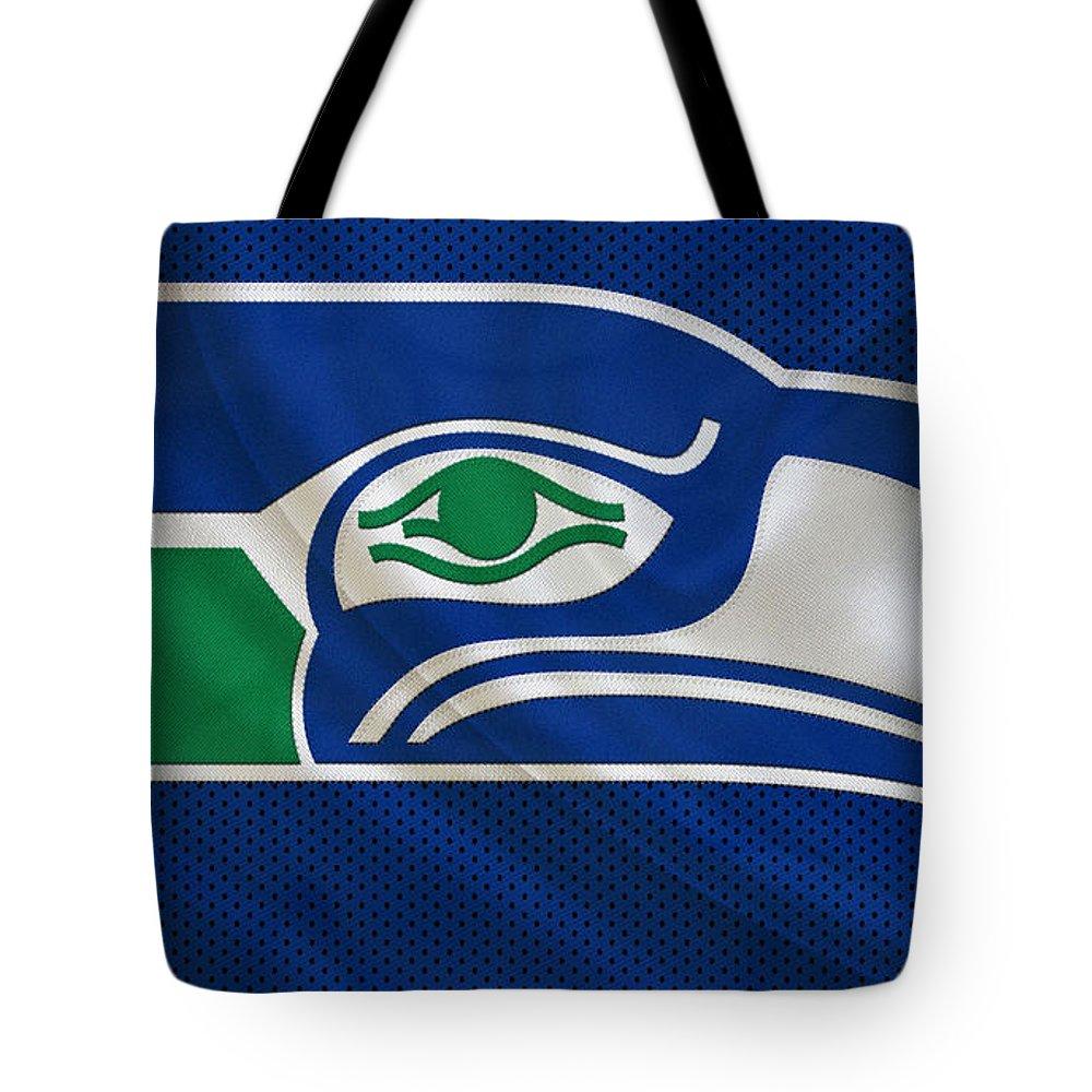 Seahawks Tote Bag featuring the photograph Seattle Seahawks by Joe Hamilton