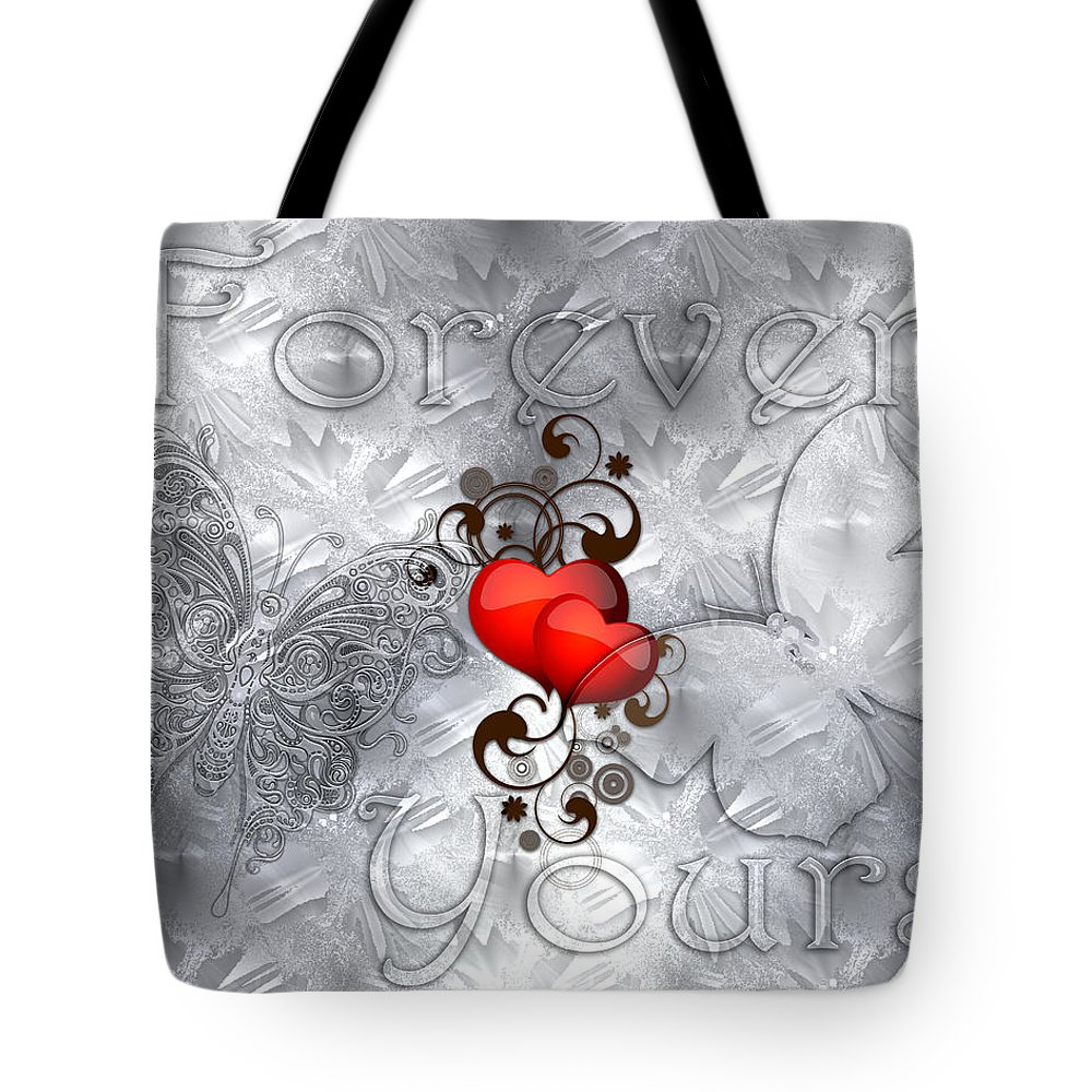 3d Tote Bag featuring the photograph Forever Yours by Carlos Diaz