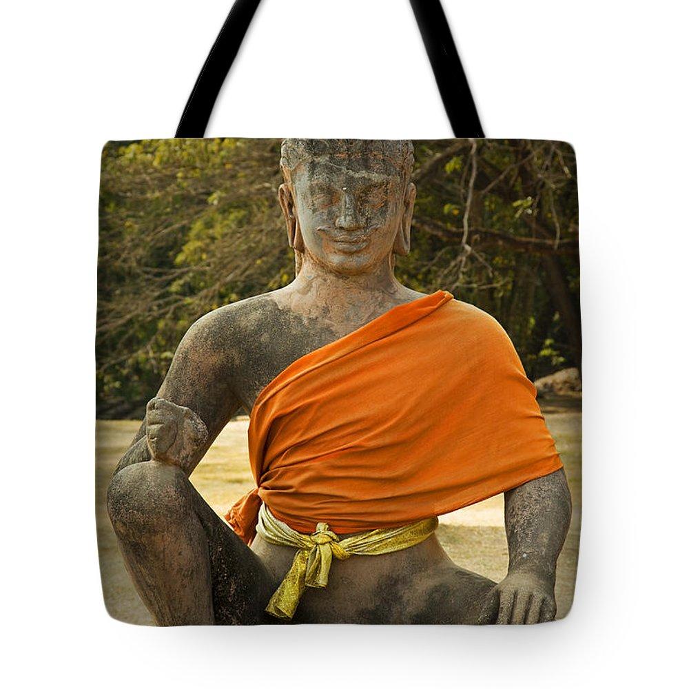 Altar Tote Bag featuring the photograph Angkor Thom by David Davis