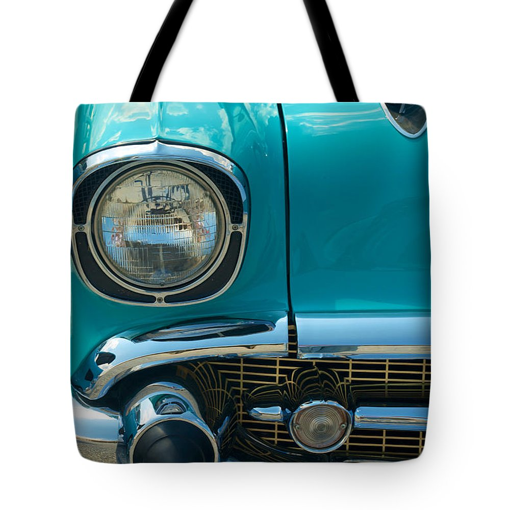 Car Tote Bag featuring the photograph Chevrolet by Mark Dodd