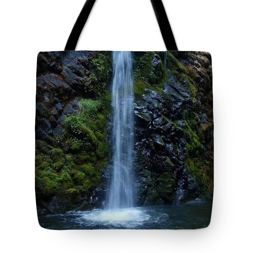 Water Tote Bag featuring the photograph Fall Creek Falls by Teri Schuster