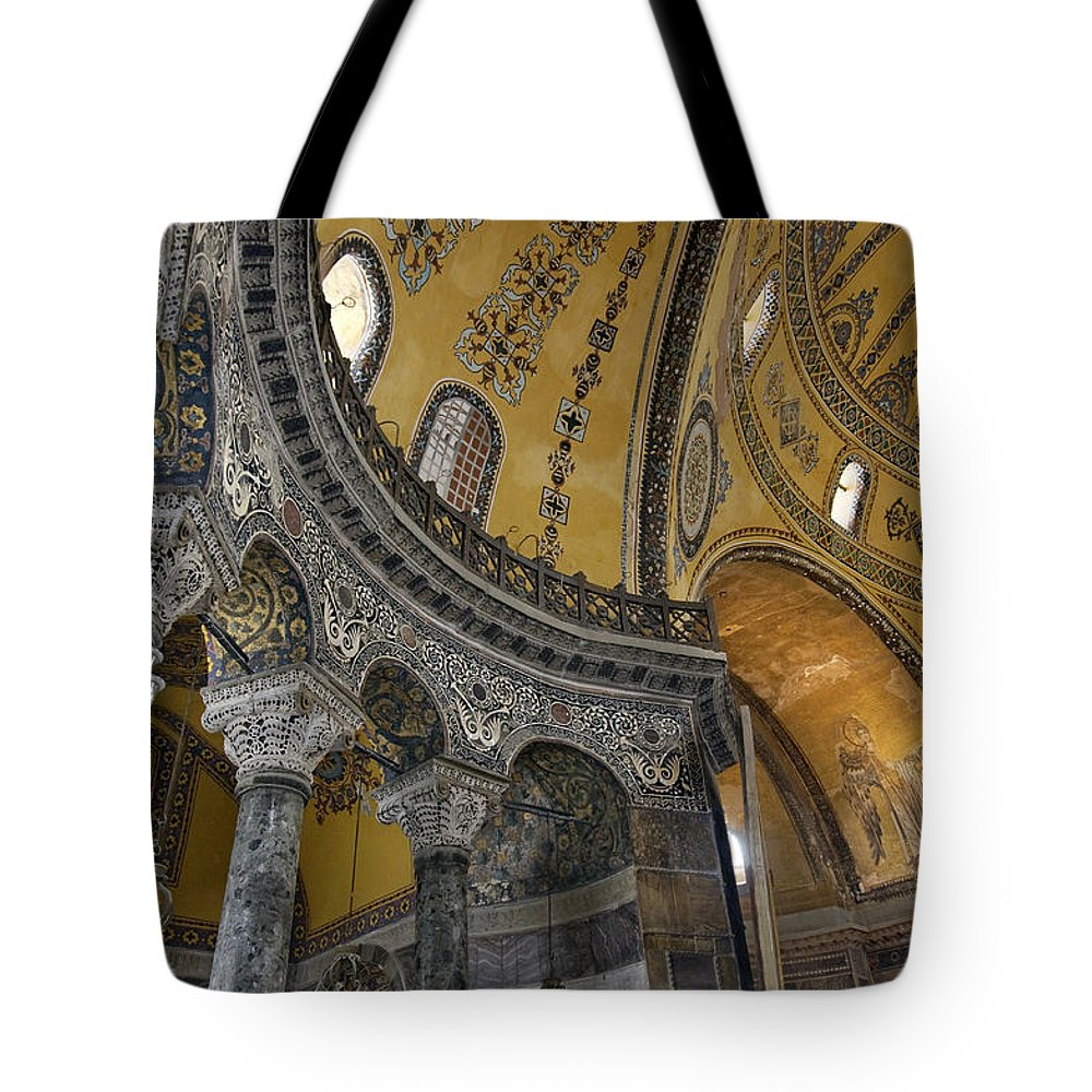 Hagia Sophia Tote Bag featuring the photograph Hagia Sophia by Ayhan Altun