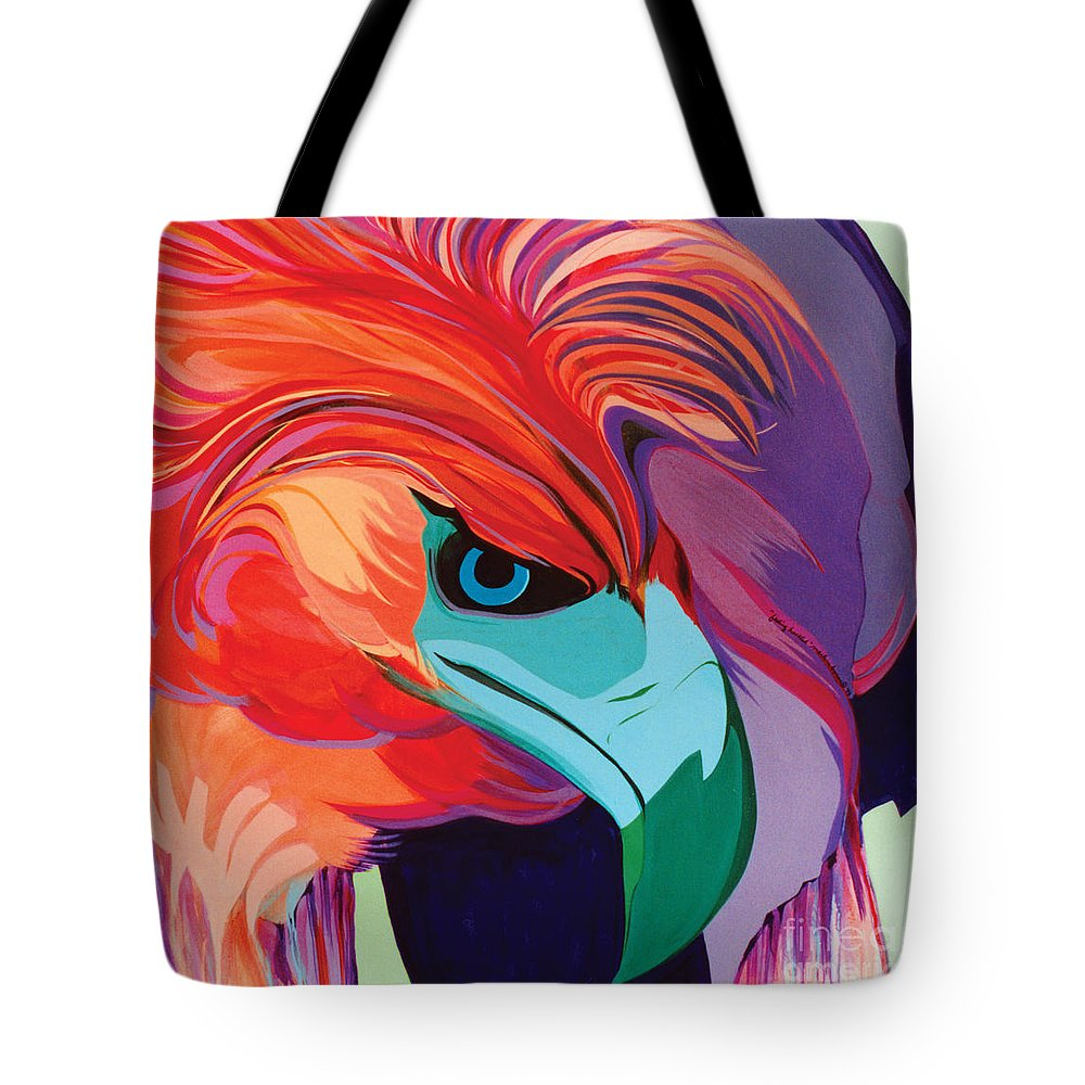 Sets Tote Bag featuring the painting 4 Perplex 1 by Marlene Burns