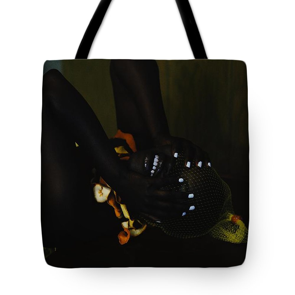 Headwear Tote Bag featuring the photograph The Black Victorian by Stephanie Nnamani