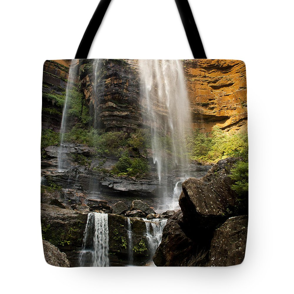 Australia Tote Bag featuring the photograph Wentworth Falls Blue Mountains by Tim Hester