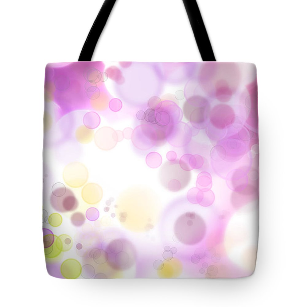 Illustration Tote Bag featuring the photograph Abstract Background by Les Cunliffe