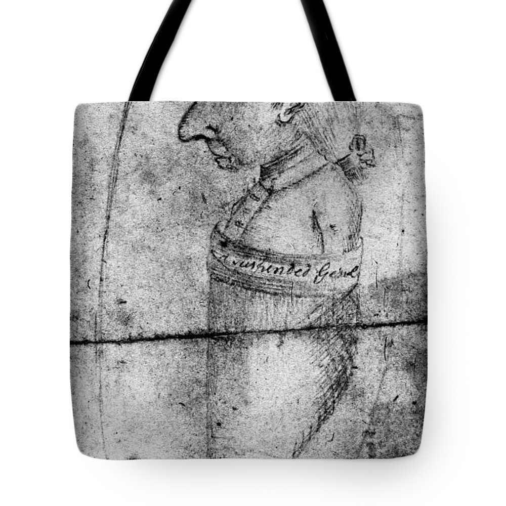 1778 Tote Bag featuring the photograph Charles Lee (1731-1782) by Granger