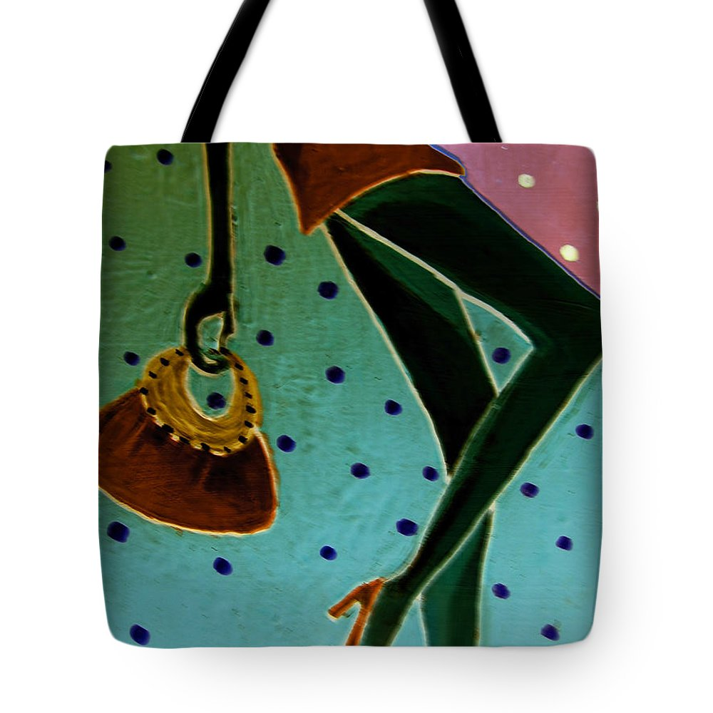 Pikotine Tote Bag featuring the painting Fashion Art by Pikotine Art