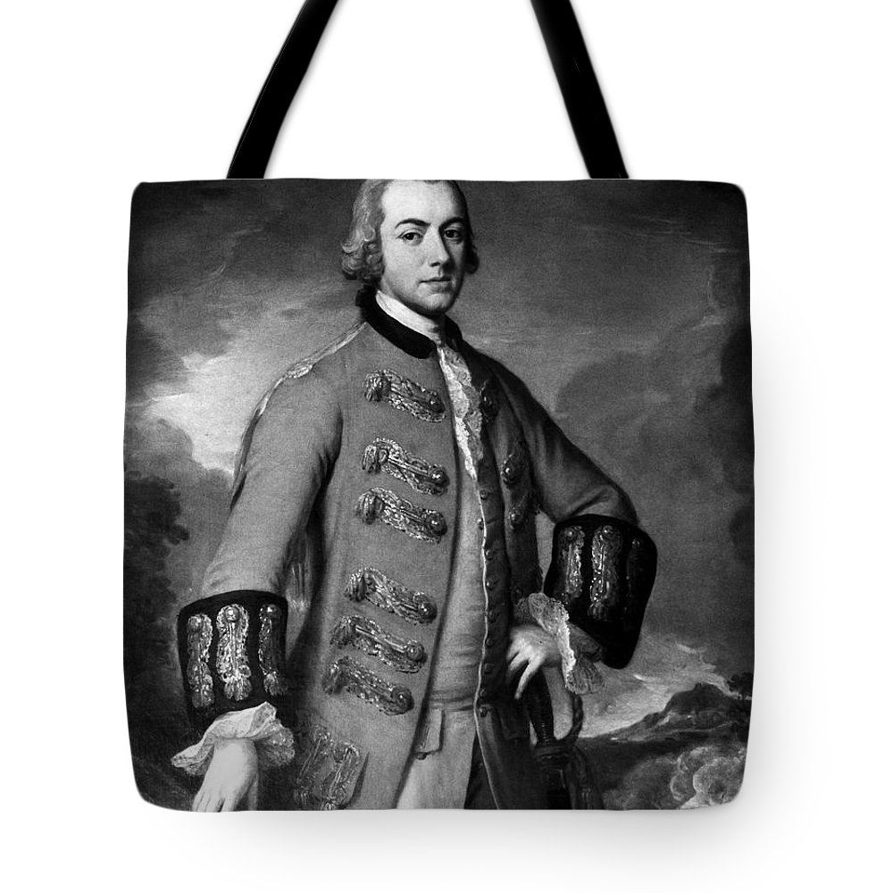 18th Century Tote Bag featuring the photograph Henry Clinton (1738-1795) by Granger