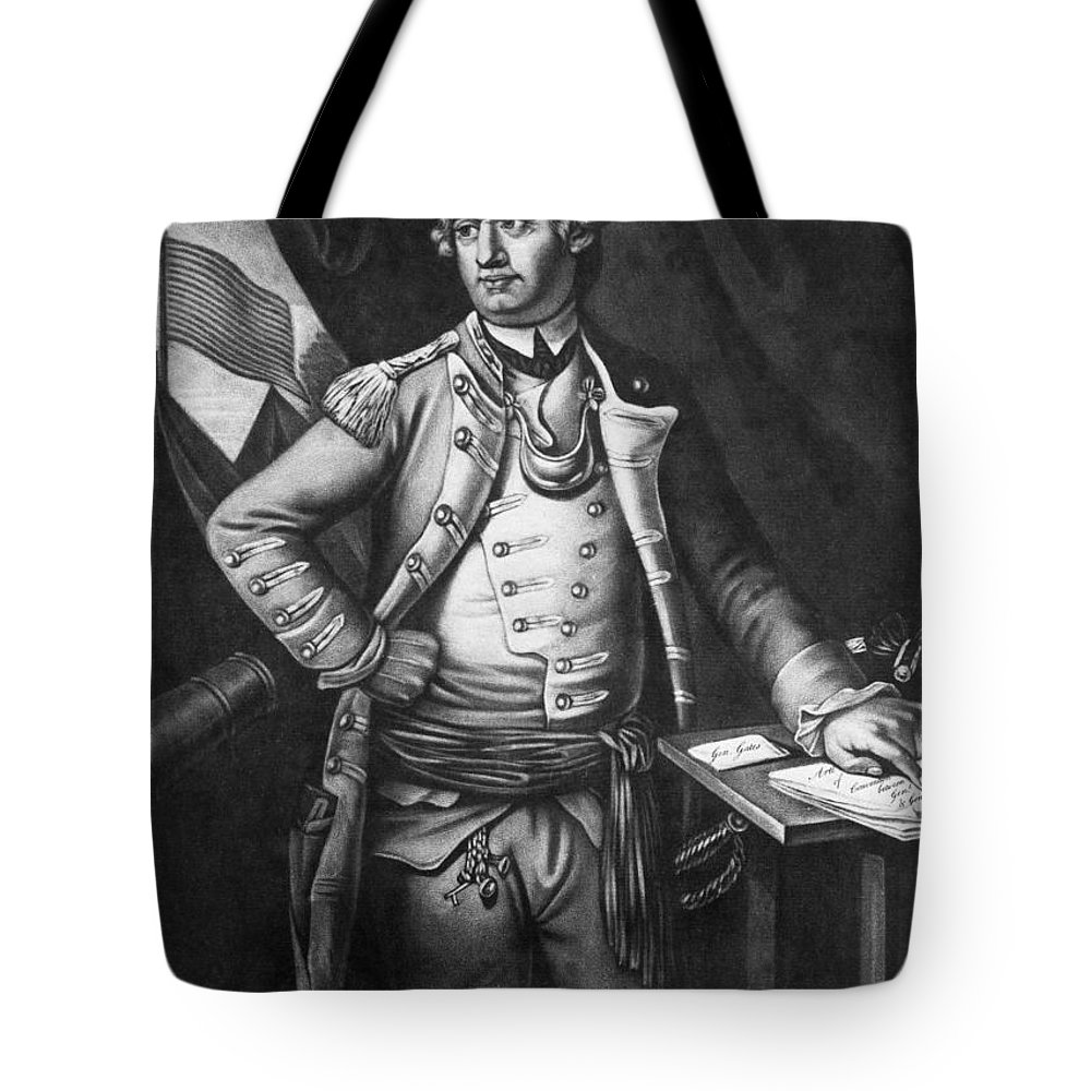 1778 Tote Bag featuring the photograph Horatio Gates (c1728-1806) by Granger