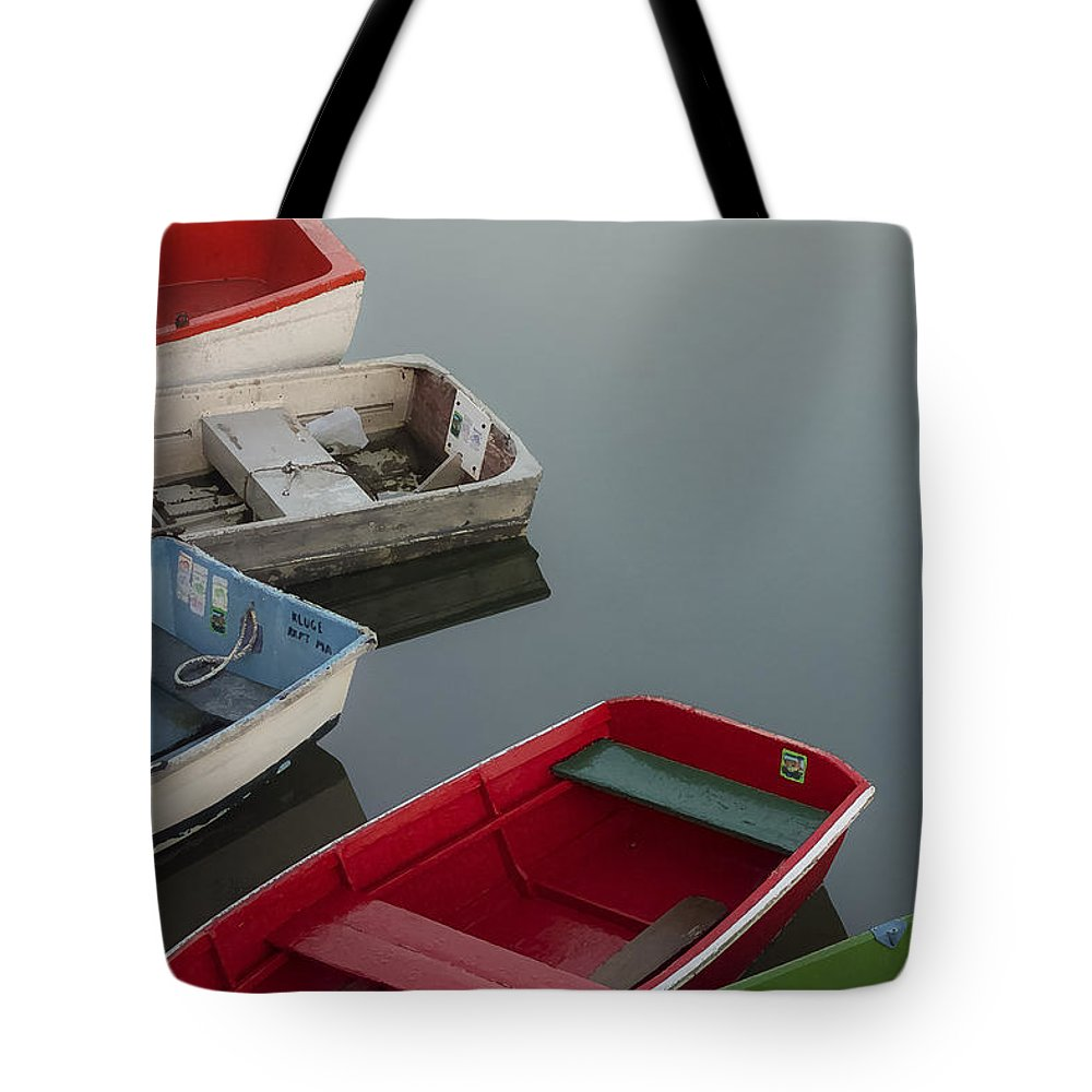 Rockport Tote Bag featuring the photograph 5 Prams by David Stone