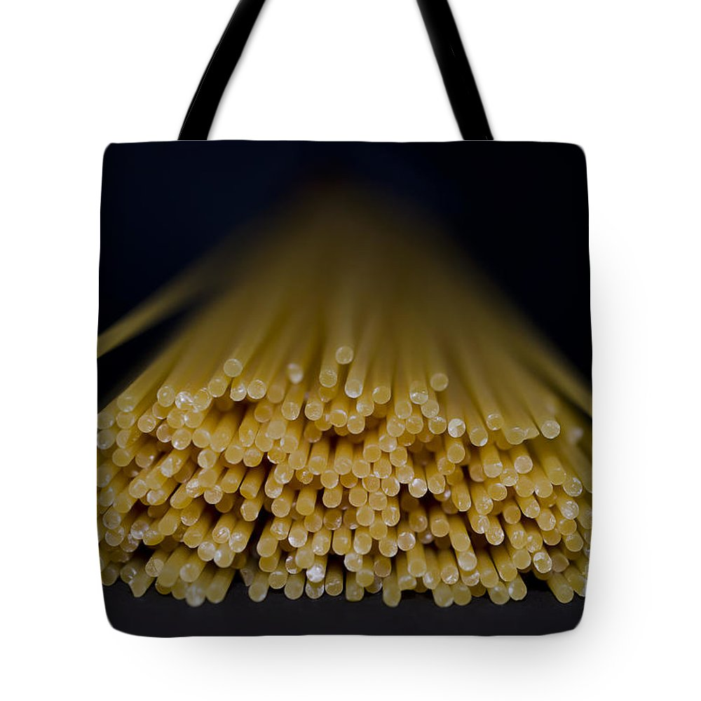 Pasta Tote Bag featuring the photograph Spaghetti by Mats Silvan