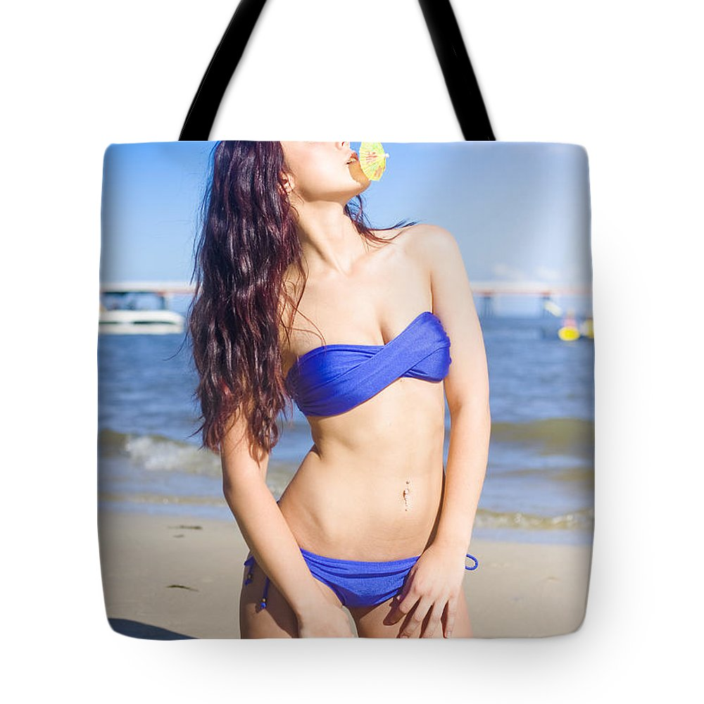 Vacation Tote Bag featuring the photograph Summer Holiday by Jorgo Photography - Wall Art Gallery