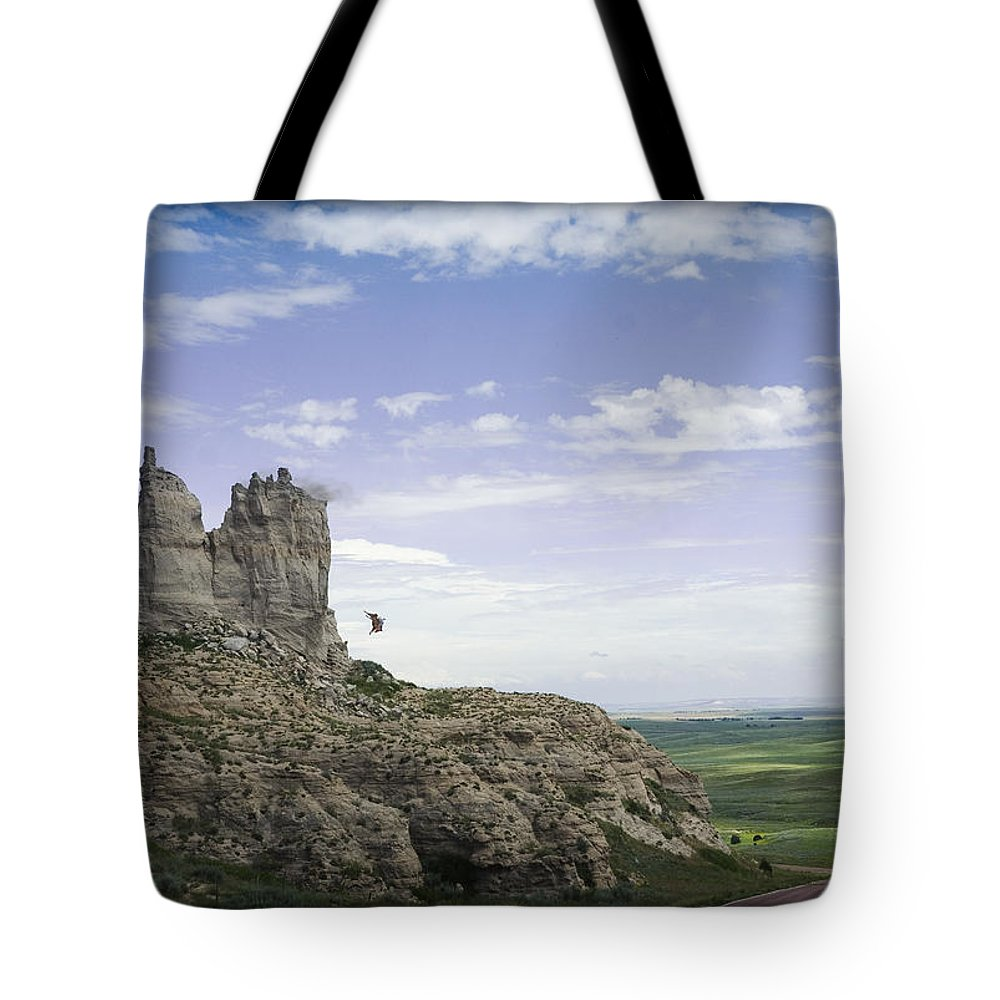 Cowboys Tote Bag featuring the photograph Little Joe The Wrangler - 500051 by TNT Images