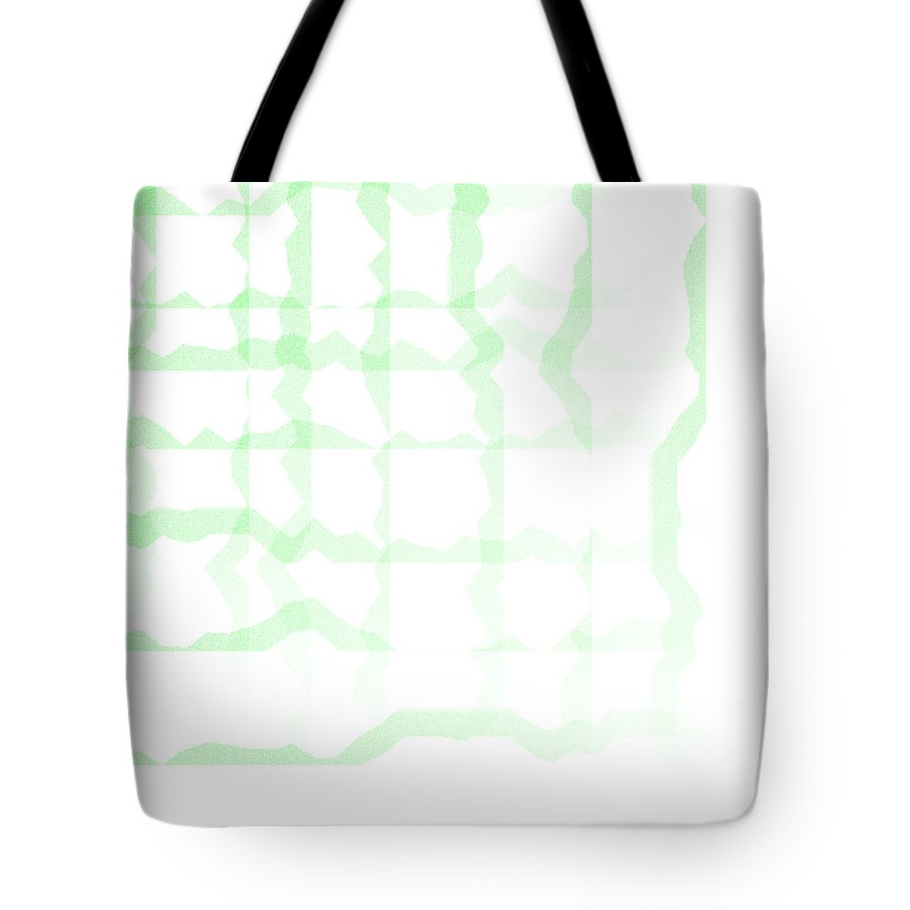 Abstract Tote Bag featuring the digital art 5040.24.5 by Gareth Lewis