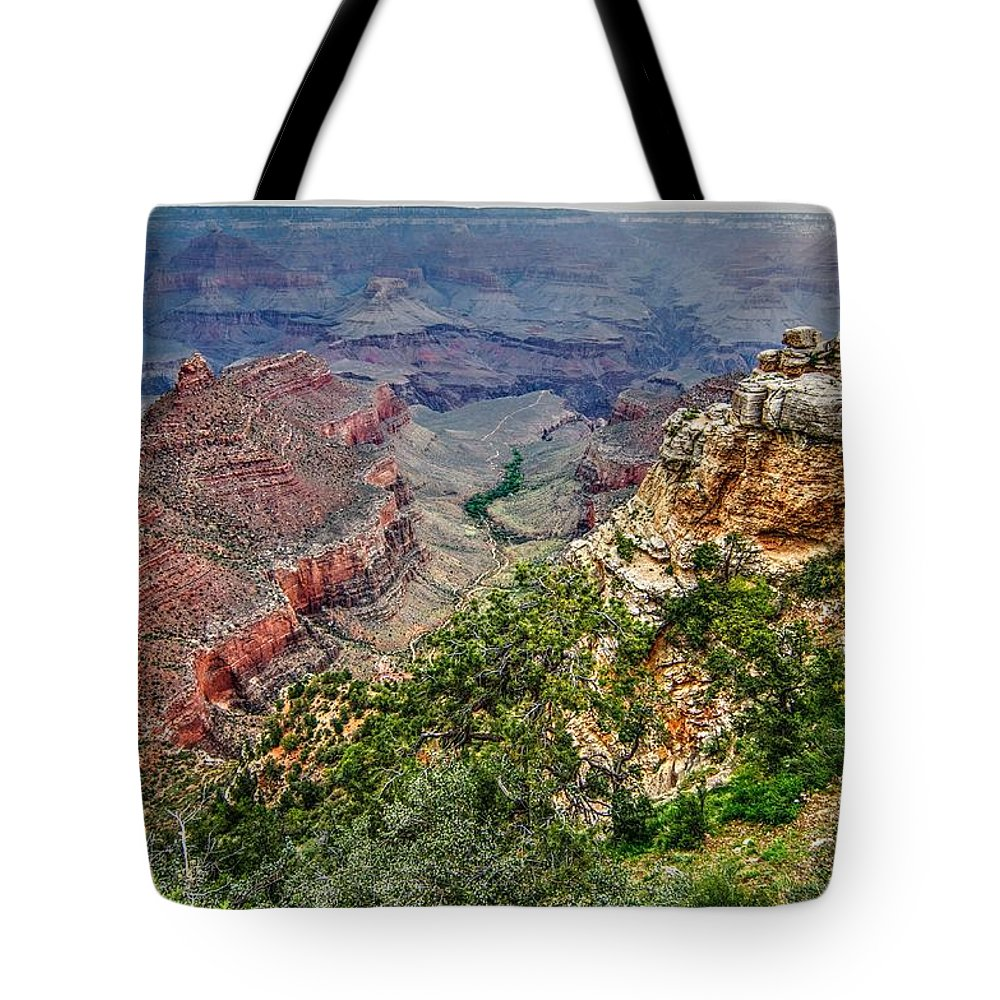 Grand Canyon Tote Bag featuring the photograph Grand Canyon by Patrick Warneka