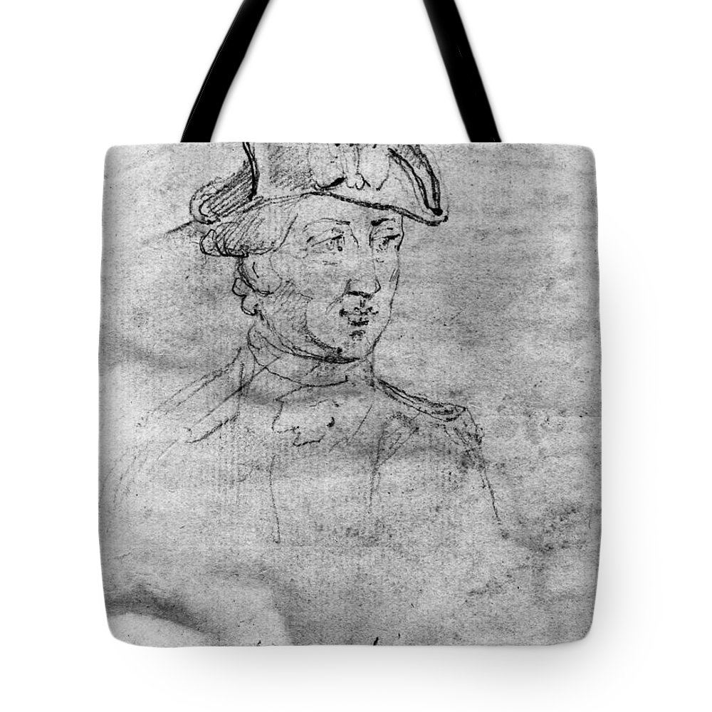 18th Century Tote Bag featuring the photograph Charles Lee (1731-1782) by Granger