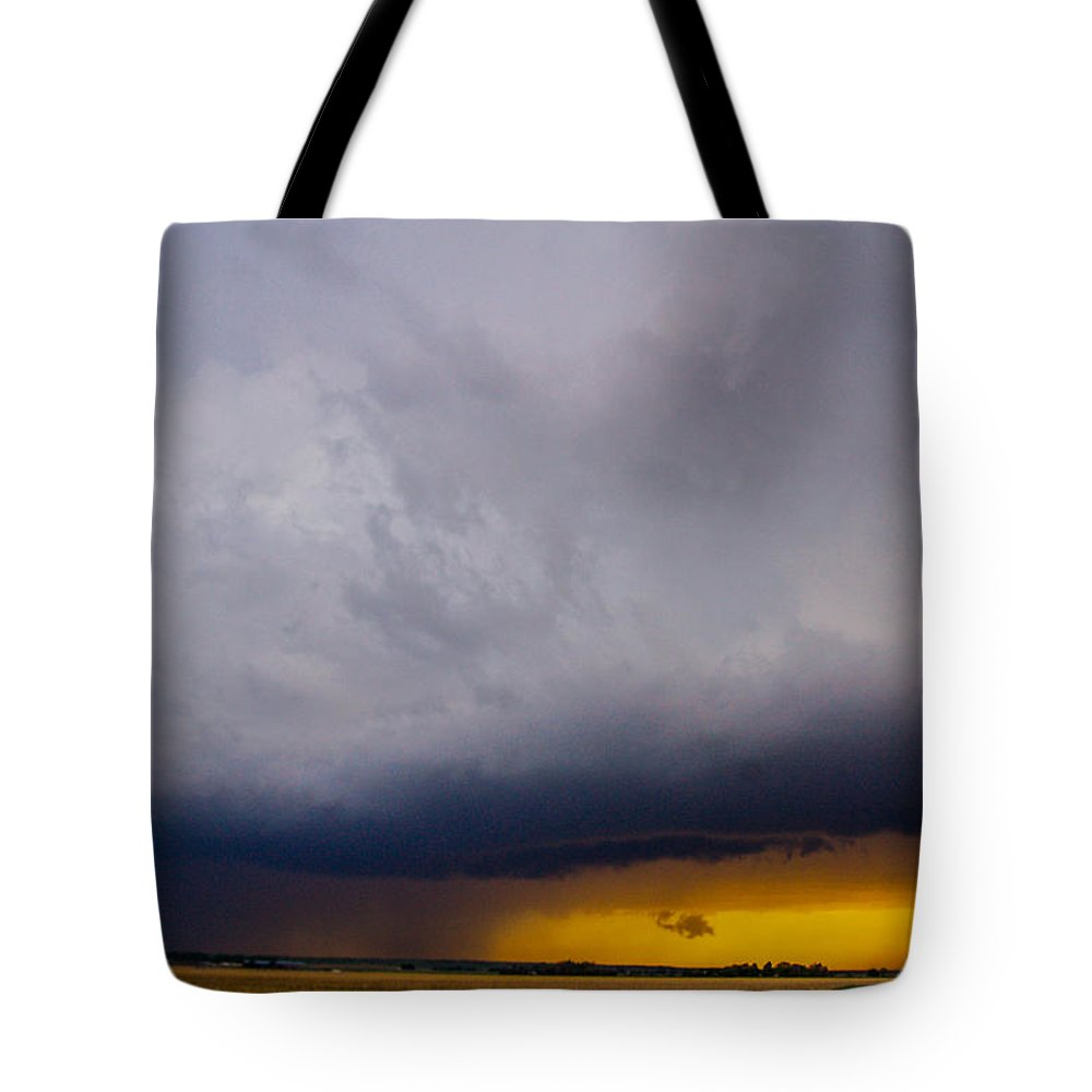 Nebraskasc Tote Bag featuring the photograph Excellent Severe T-boomers South Central Nebraska by NebraskaSC