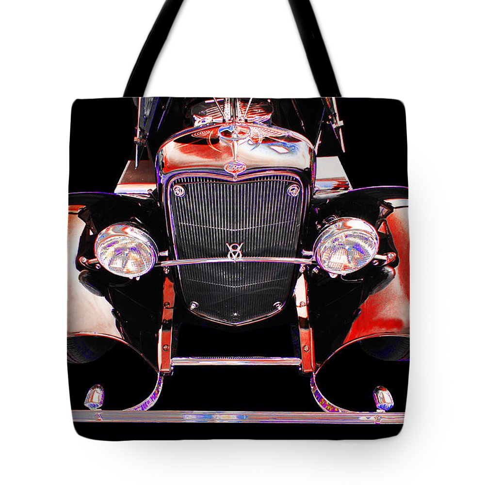 1932 Ford Tote Bag featuring the photograph Ford by Allan Price
