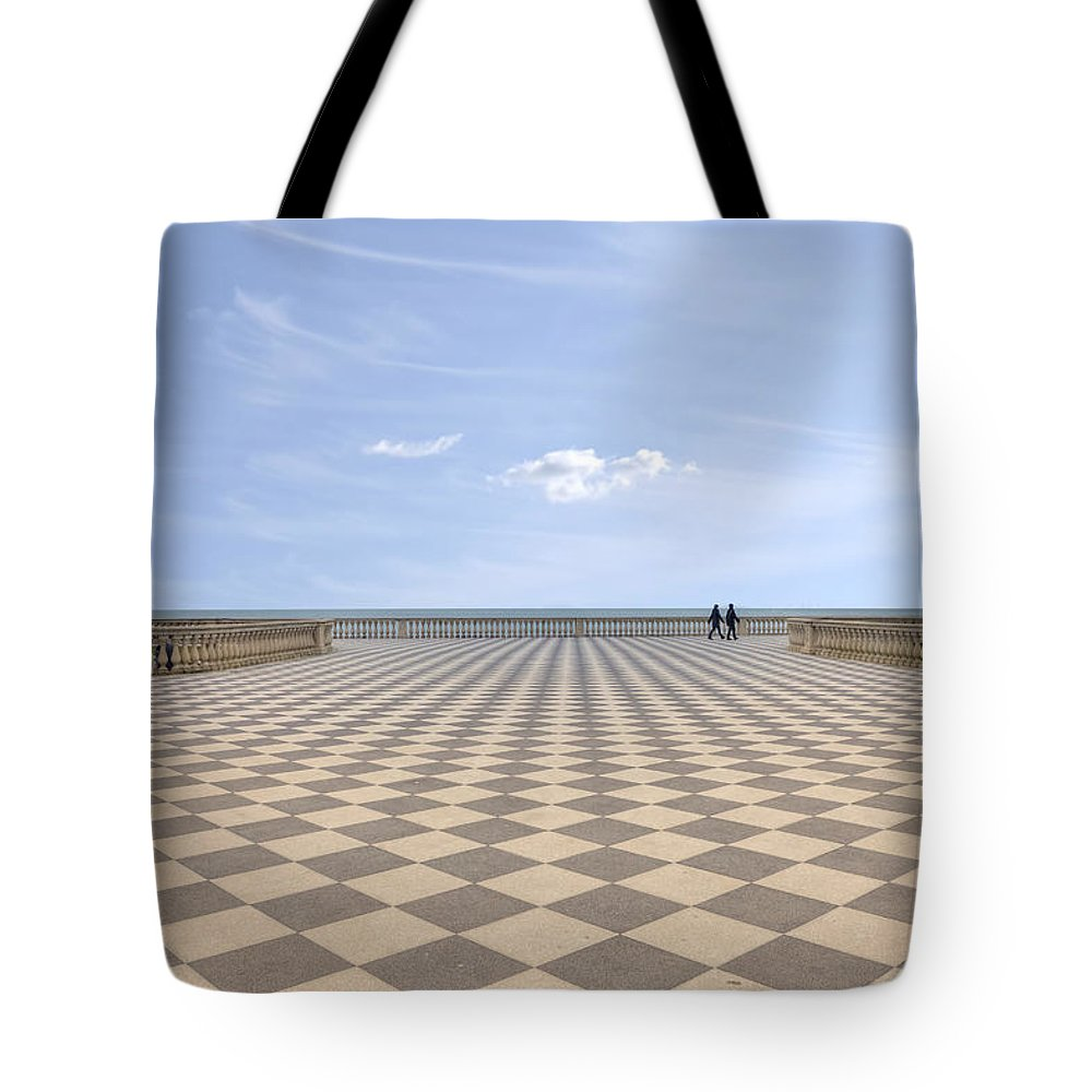Livorno Tote Bag featuring the photograph Livorno by Joana Kruse