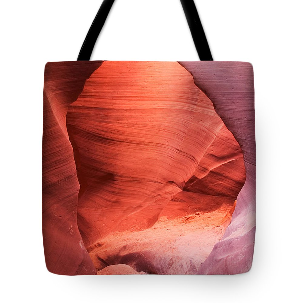 Antelope Canyon Tote Bag featuring the photograph Lower Antelope Canyon by David Davis