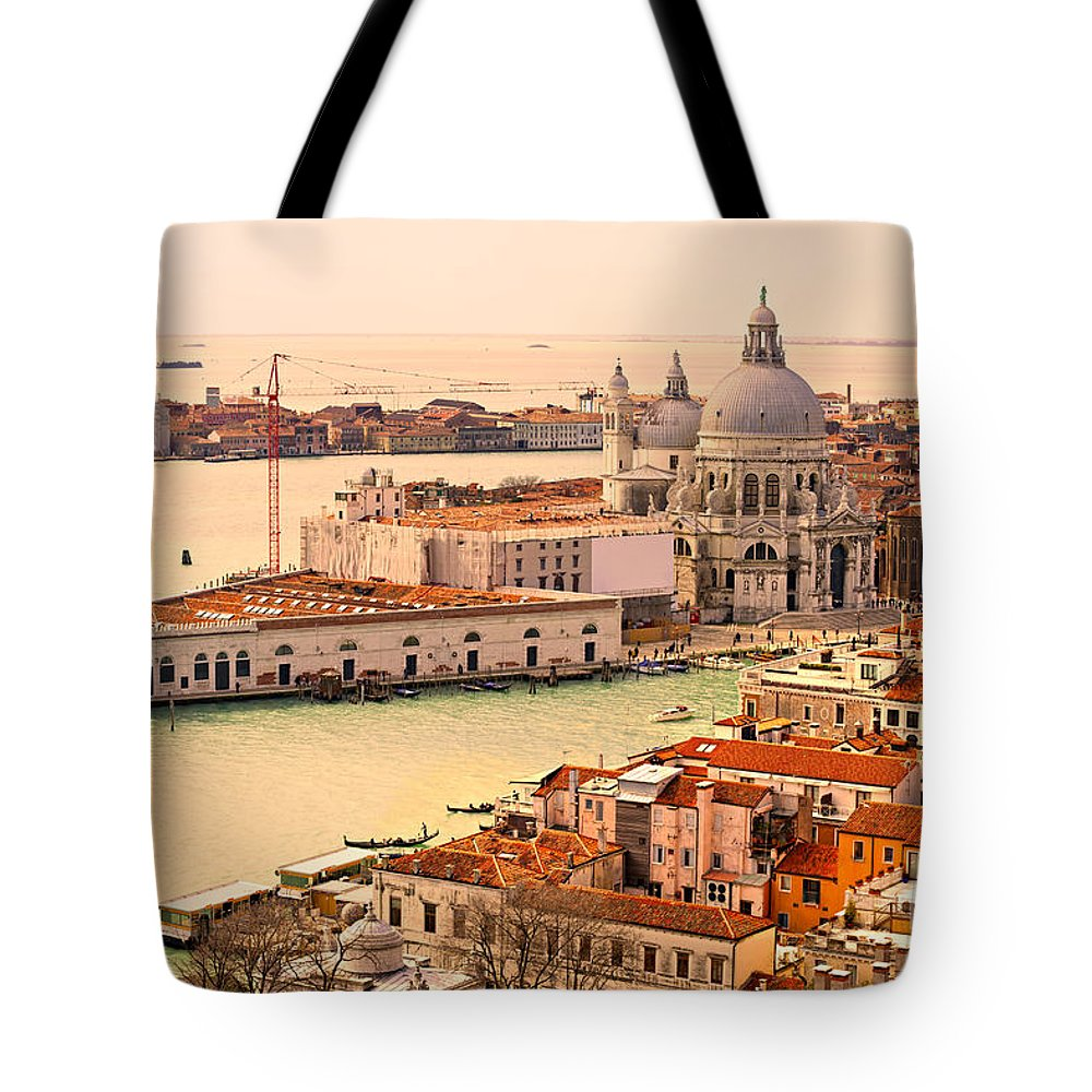 Balcony Tote Bag featuring the photograph Venice by Luciano Mortula