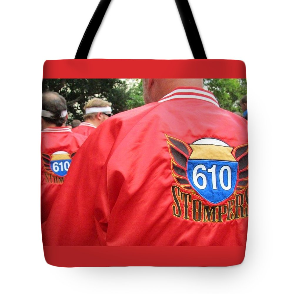 610 Stompers Tote Bag featuring the photograph 610 Stompers - New Orleans La by Deborah Lacoste