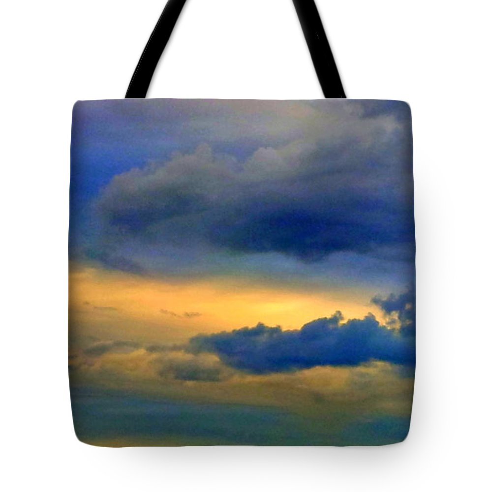 Sky Tote Bag featuring the photograph 62 by Paul Wilford
