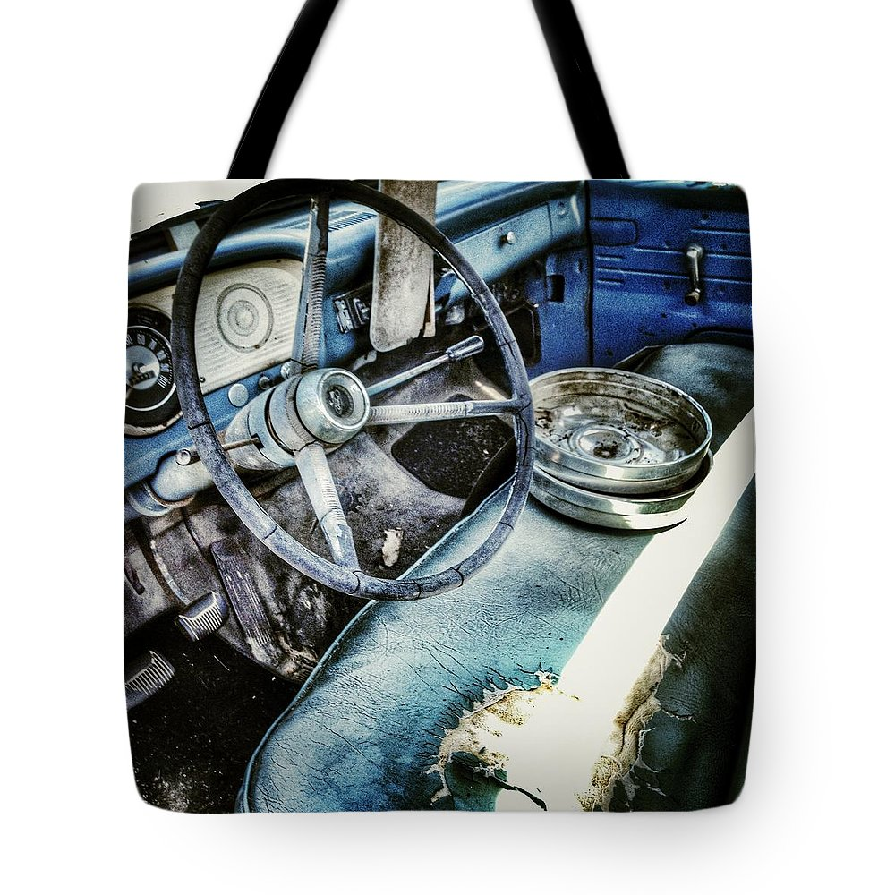 65 Ford F100 Interior Tote Bag For Sale By Southern Tradition 1955 1965 Featuring The Photograph