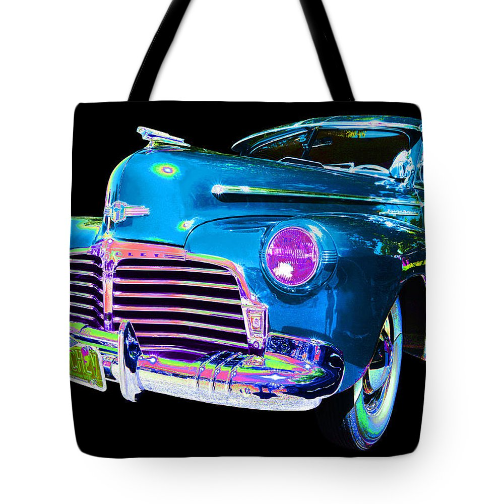1942 Chevy Tote Bag featuring the photograph Chevy by Allan Price