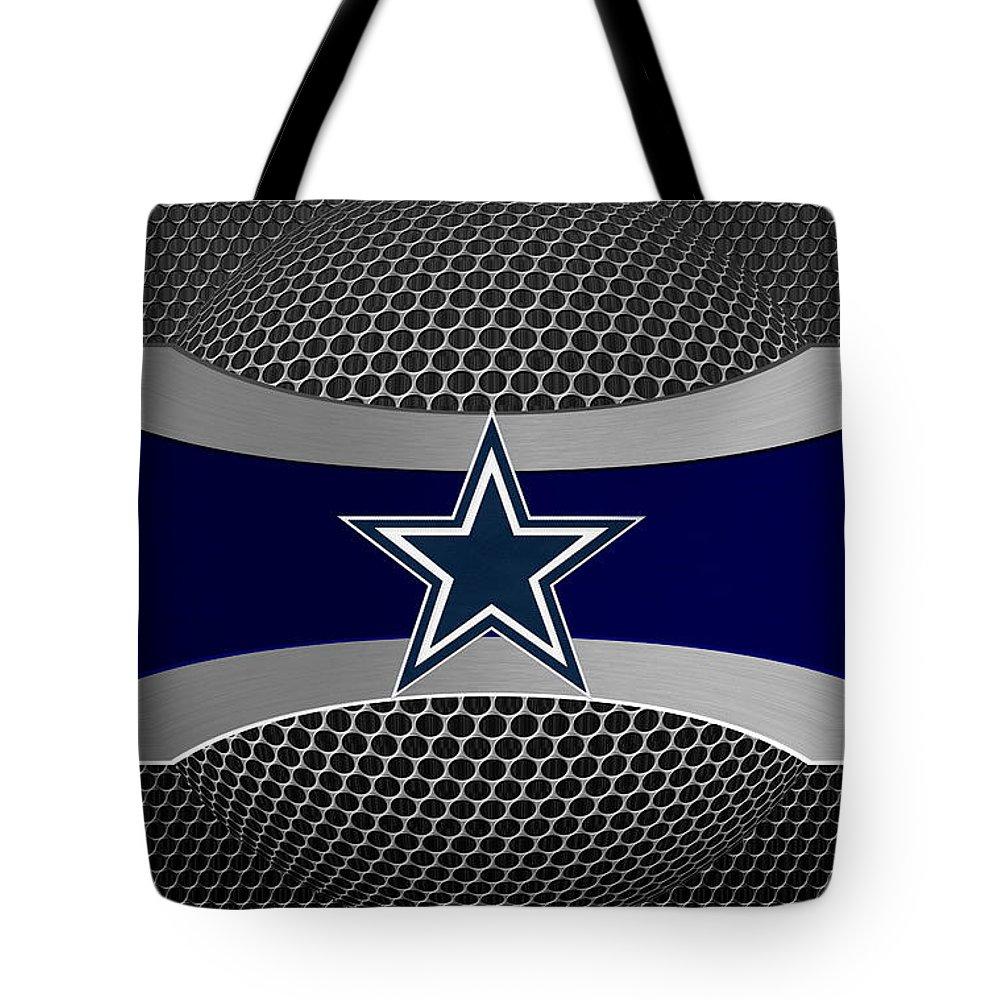Cowboys Tote Bag featuring the photograph Dallas Cowboys by Joe Hamilton