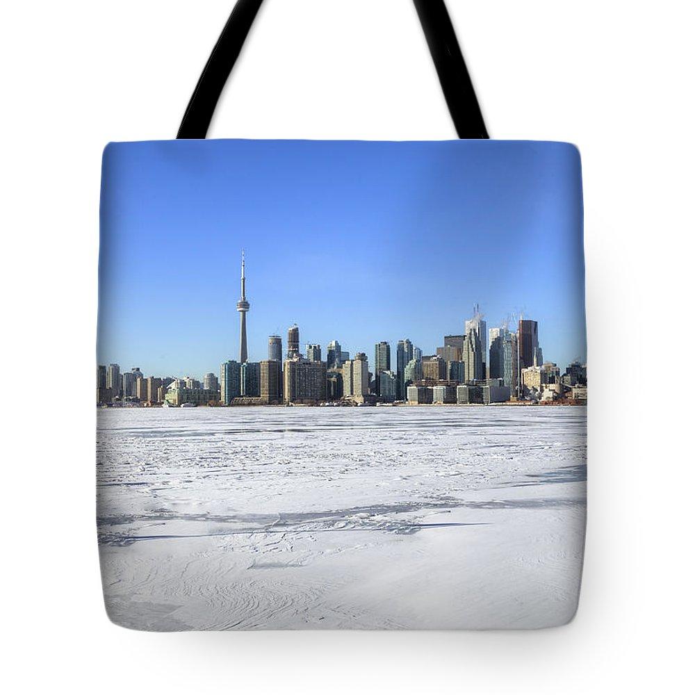 Skyline Tote Bag featuring the photograph Toronto by Joana Kruse