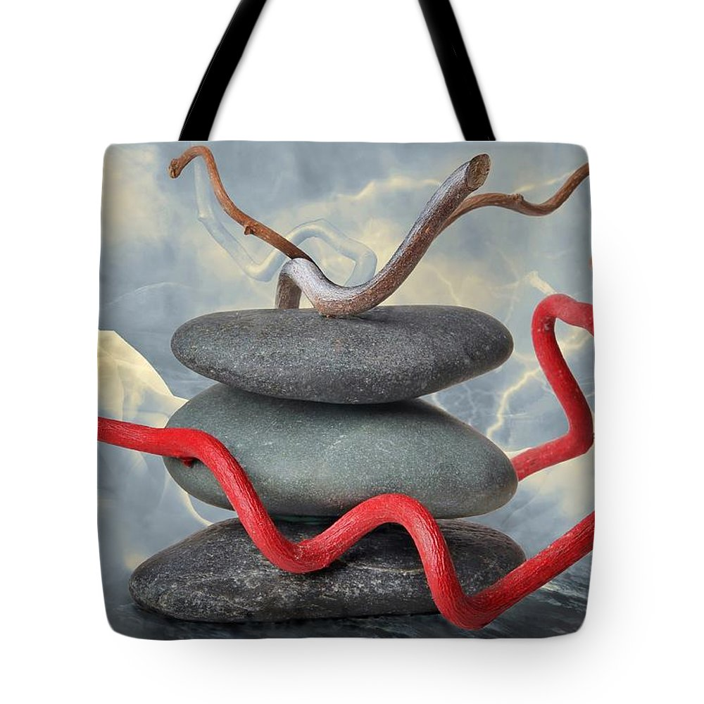 Zen Tote Bag featuring the photograph ZEN by Manfred Lutzius