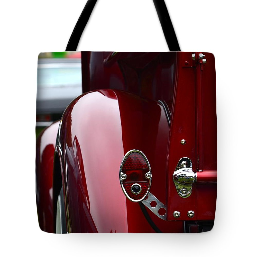 Classic Tote Bag featuring the photograph Classic Chevy Pickup by Dean Ferreira