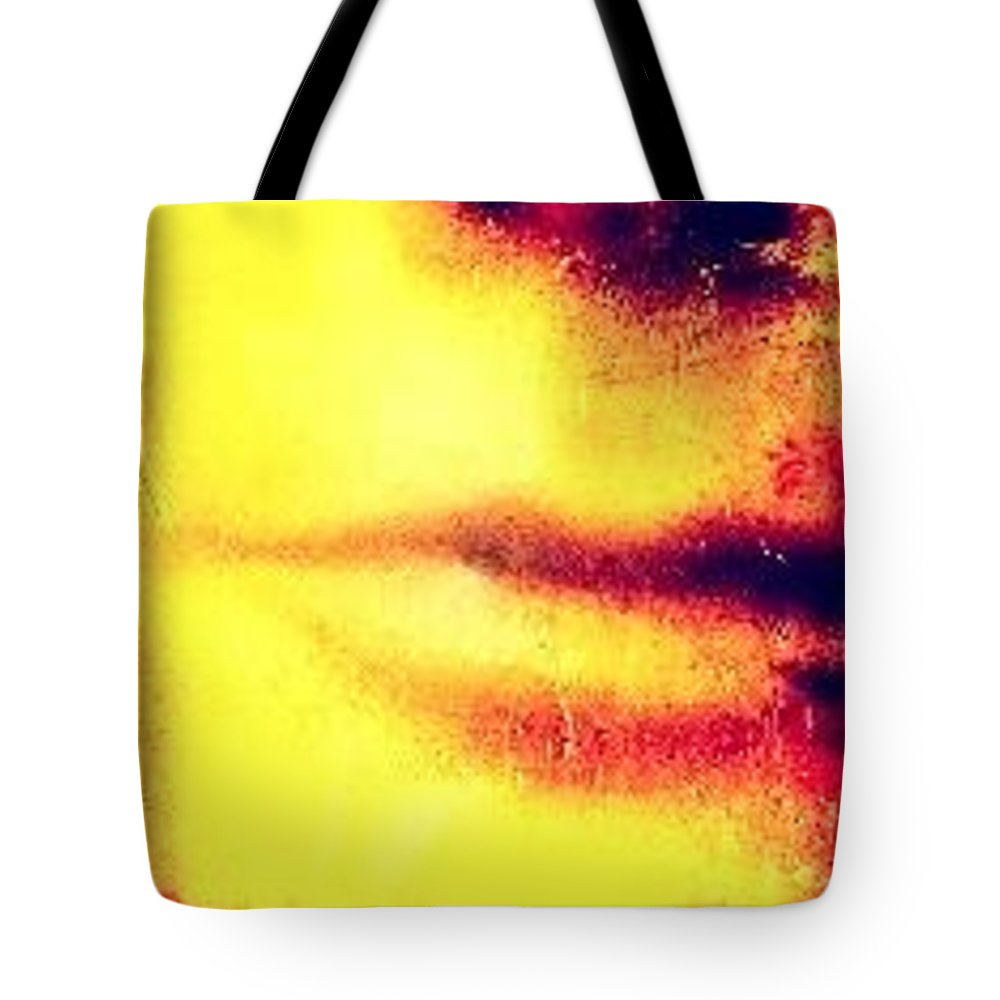 Face Tote Bag featuring the photograph Untitled by Barbara Ruano