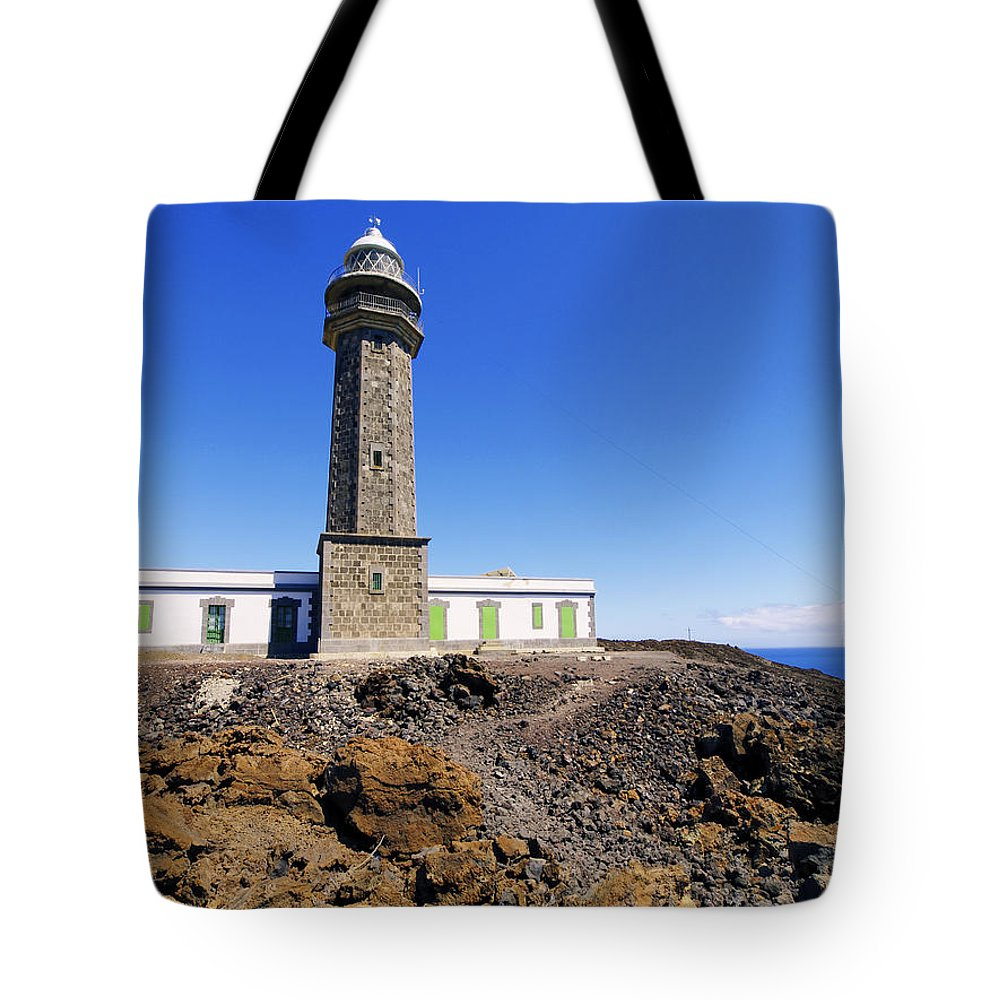 Lighthouse Tote Bag featuring the photograph Lighthouse by Karol Kozlowski