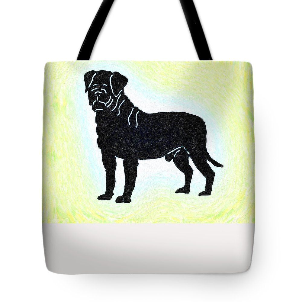 #art #fineart Poster Tote Bag featuring the painting The Amazing Pub by MotionAge Designs