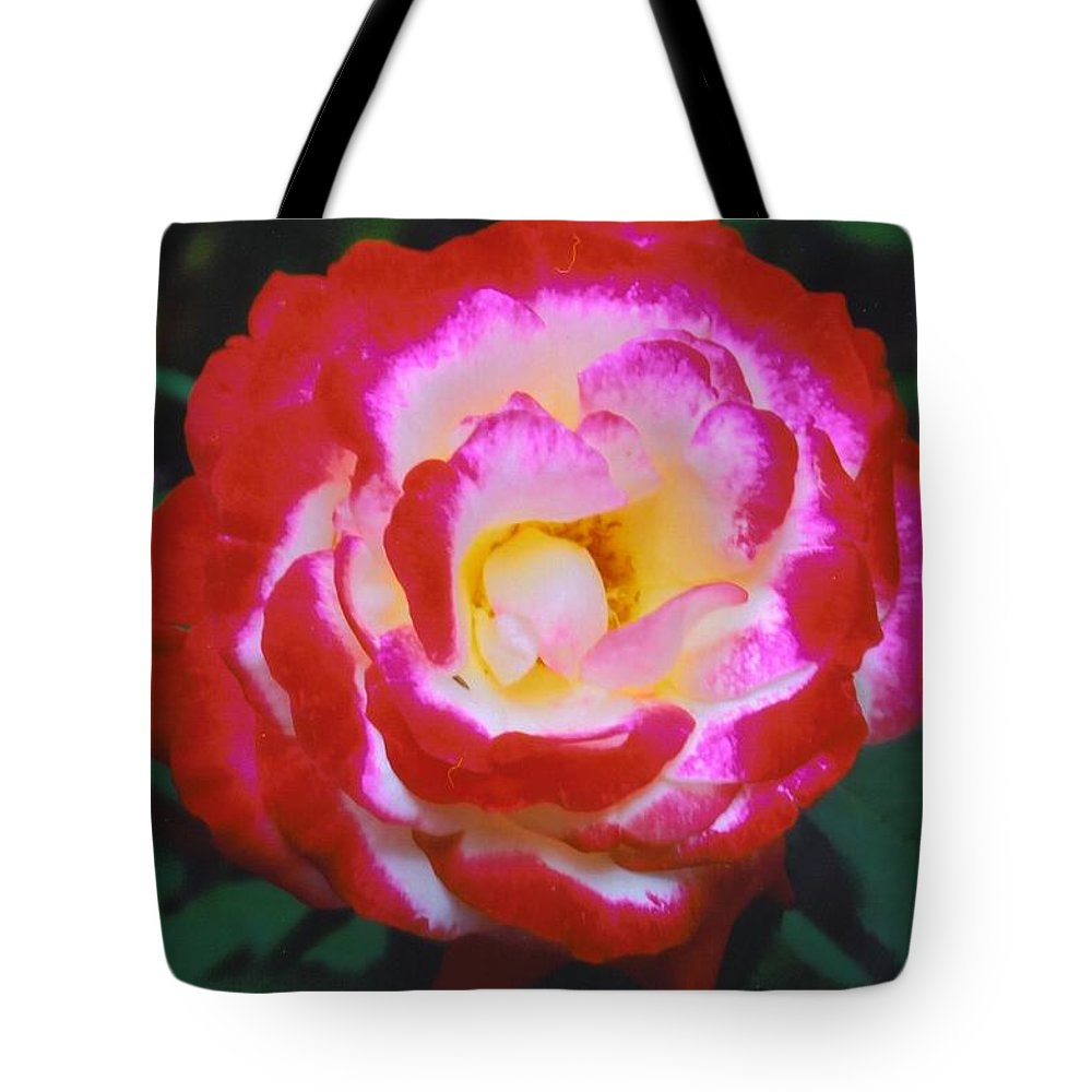 Home Grown Tote Bag featuring the photograph Rose by Robert Floyd