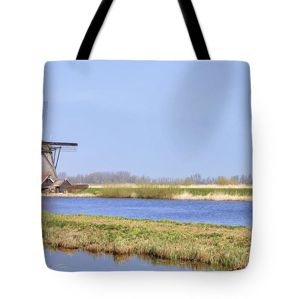 Kinderdijk Tote Bag featuring the photograph Kinderdijk by Joana Kruse