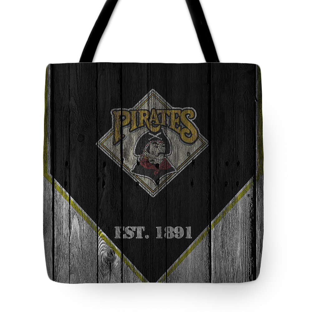 Pirates Tote Bag featuring the photograph Pittsburgh Pirates by Joe Hamilton